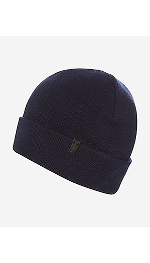Basic Beanie in Navy