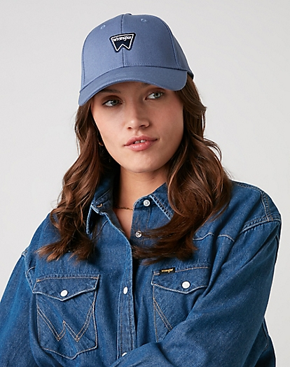 Logo Cap in Limoges Blue
