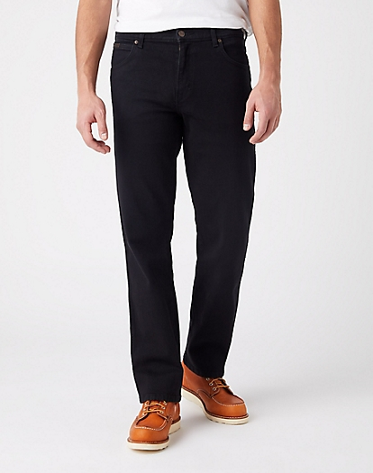 Texas Stretch Jeans:Black Overdye:42:30