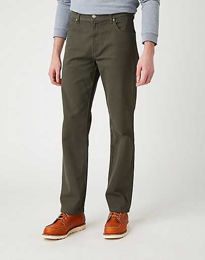 Texas Trouser in Moss Green