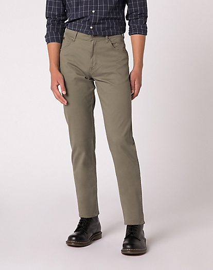 Texas Trouser in Dusty Olive