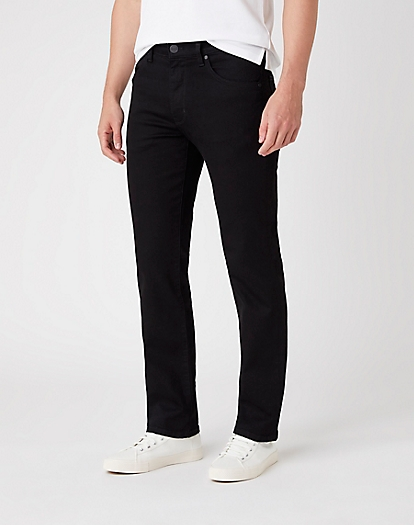 Arizona Midweight Jeans in Black Valley