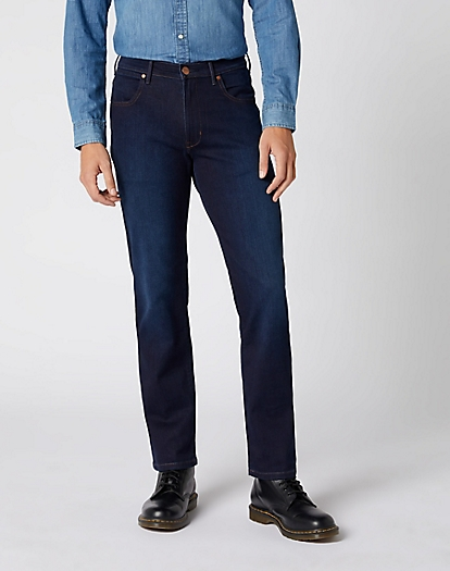 Arizona Lightweight Jeans in Blue Stroke