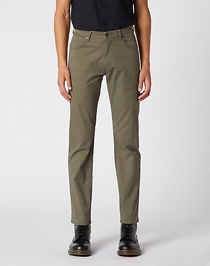 Arizona Trouser in Dusty Olive