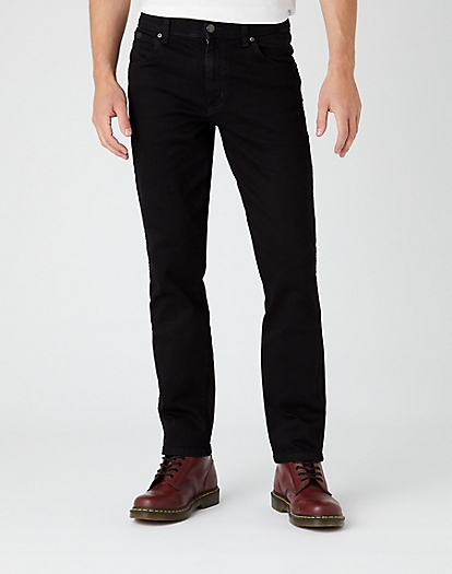 Texas Slim Jeans in Black Valley