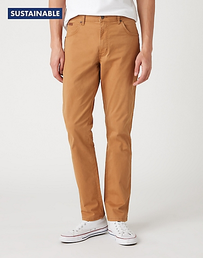 Texas Slim Trousers in Biscuit