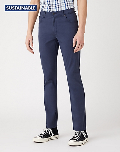 Texas Slim Trousers in Navy