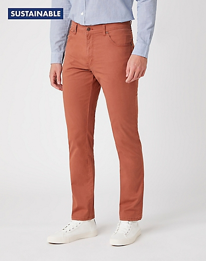 Texas Slim Trousers in Ginger