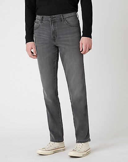 Texas Slim Jeans in Silver Smooth
