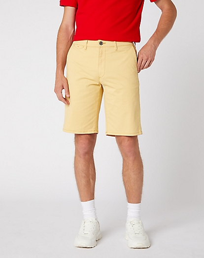 Chino Short in Mimosa Yellow