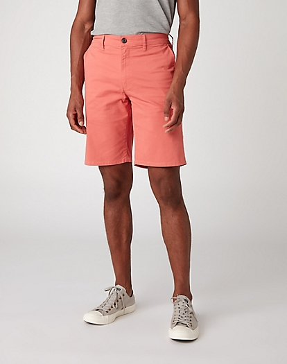Chino Short in Coral