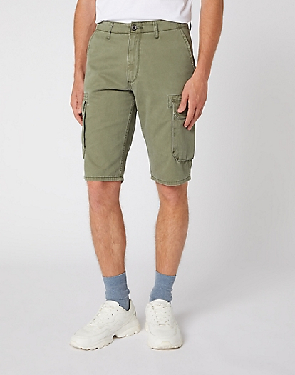 Cargo Short in Dusty Olive