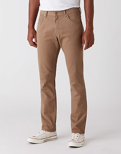 Greensboro Trouser in Canvas Brown