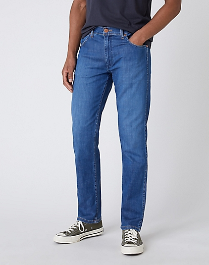 Greensboro Lightweight Jeans in Limelite Blue