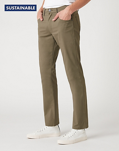 Greensboro Trouser in Dusty Olive