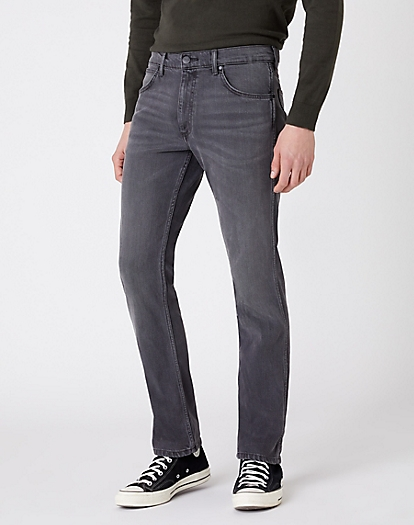 Greensboro Heavyweight Jeans in Silver Smooth