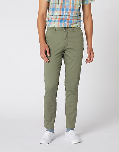 Chino in Dusty Olive