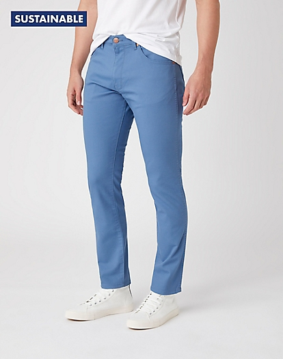 Larston Non Denim in Copen Blue