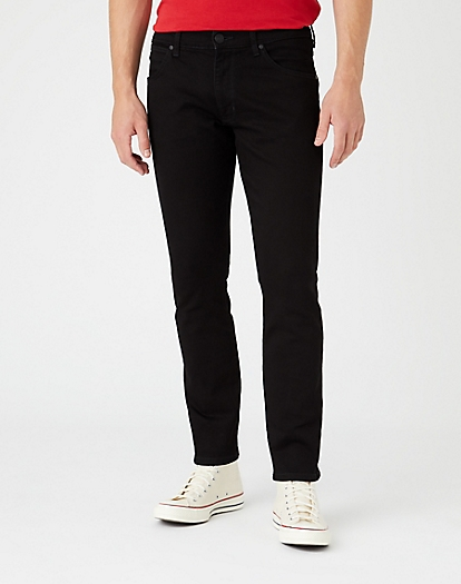 Larston Midweight Jeans in Black Valley