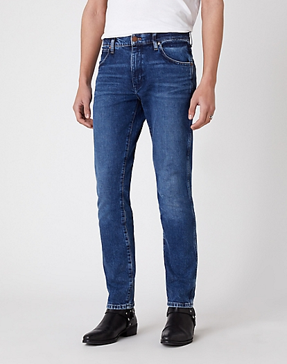 Larston Heavyweight Jeans in Blue Bolt