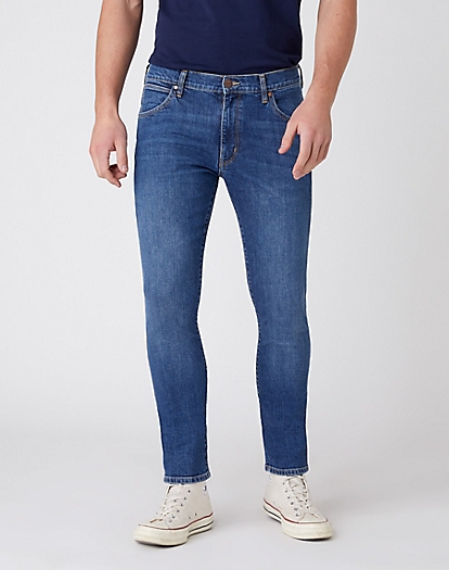 Larston Midweight Jeans in Blue Smoke