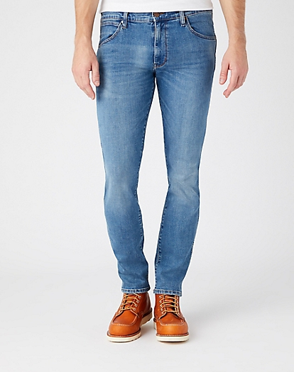 Larston Midweight Jeans in Blue Fever
