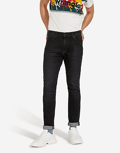 Larston Heavyweight Jeans in Soft Black