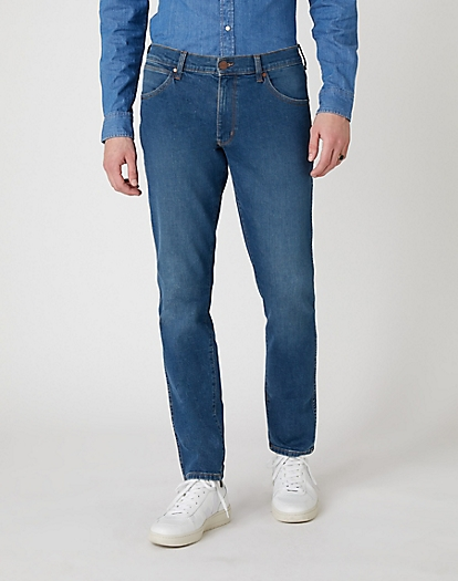 Larston Midweight Jeans in Hunter Blue