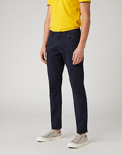 Larston Trouser in Dark Navy