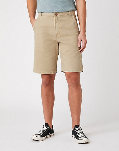 Casey Chino Shorts in Saddle