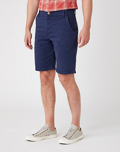 Casey Chino Shorts in Lakeport Blue
