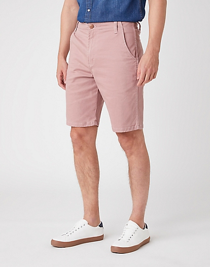 Casey Chino Shorts in Dusty Pink