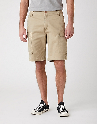 Casey Cargo Shorts in Saddle