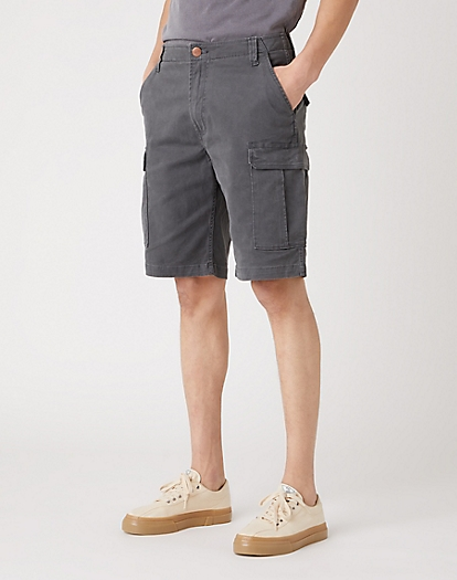 Casey Cargo Shorts in Dark Shadow