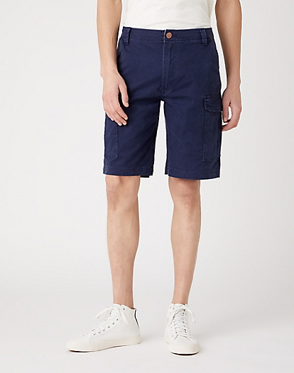Casey Cargo Shorts in Lakeport Blue