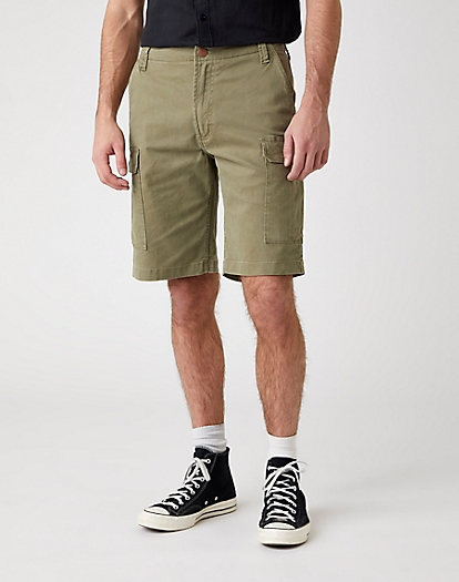 Casey Cargo Shorts in Lone Tree Green