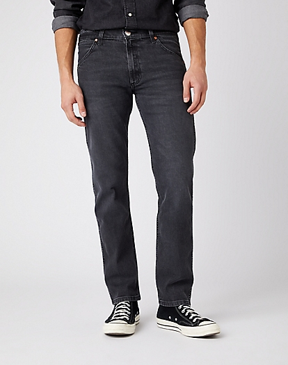 INDIGOOD ICONS 11MWZ WESTERN SLIM JEANS IN BLACK ACE