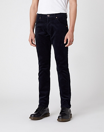 Icons 11MWZ Slim Corduroy Trouser in Navy