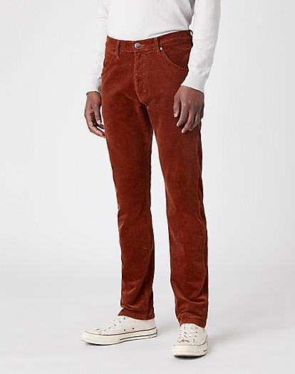 Icons 11MWZ Slim Corduroy Trouser in Tortoise Shell