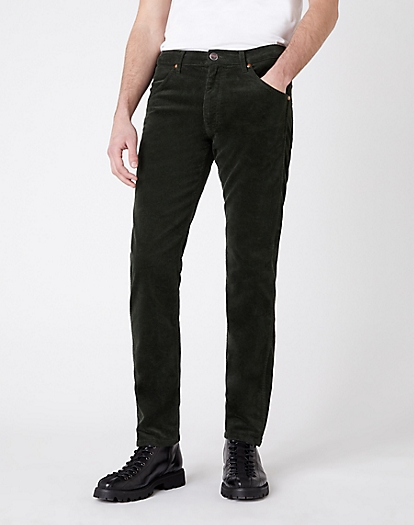Icons 11MWZ Slim Corduroy Trouser in Roisin Green