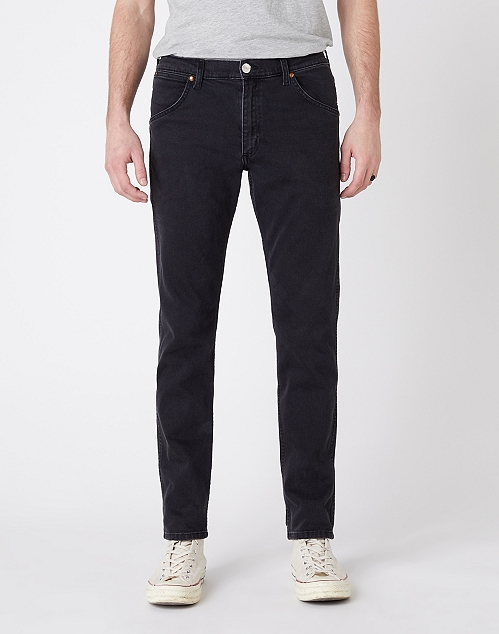 INDIGOOD ICONS 11MWZ WESTERN SLIM JEANS IN BLACK WASHED