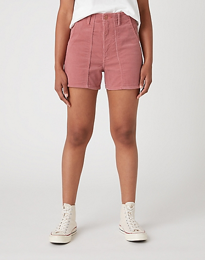 Mom Short in Dusty Rose