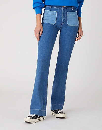 Flare Jeans in Dancing Queen