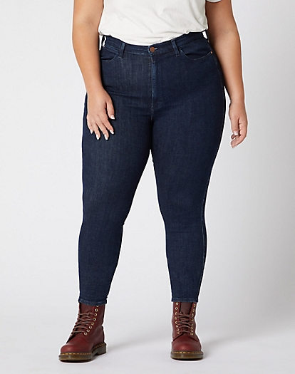 Skinny Plus Jeans in Summer Rinse