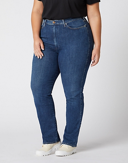 Straight Plus Jeans in Aruba
