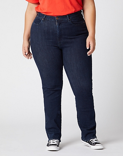 Straight Plus Jeans in Summer Rinse