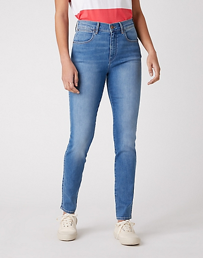 High Rise Skinny Jeans in Stayin' Light