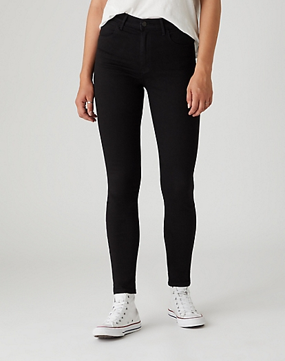 High Skinny Jeans in Rinsewash