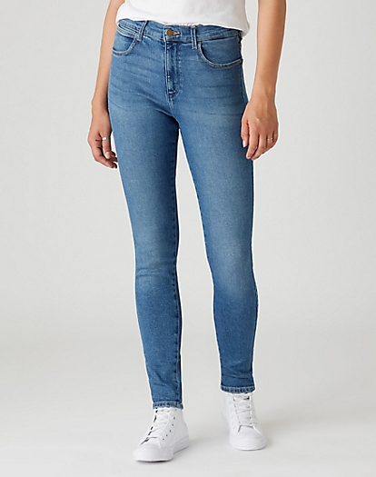 High Skinny Jeans in Nomad Sand