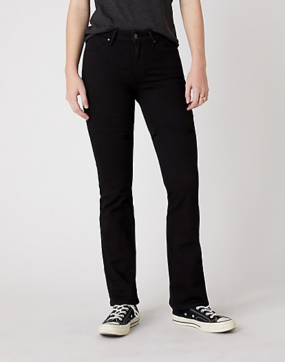 Bootcut Jeans in Rinsewash